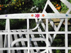 Trellis Display Close Up
