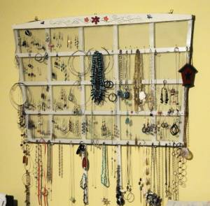 Trellis Display - After Jewelry